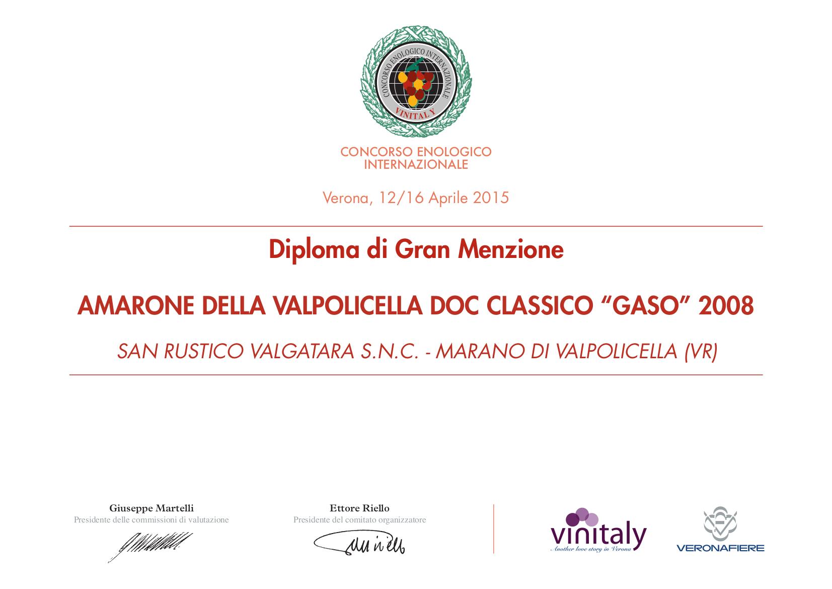 diploma gran menzione 2015